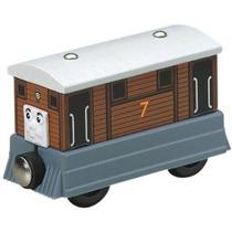 Thomas And Friends Wooden Railway - Toby El Tranvía Del Moto