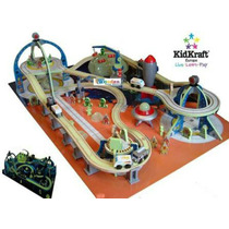Tren Espacial De Madera Kid Kraft