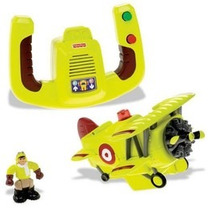 Geotrax Avion El Equipo Màs Osado Fisher Price