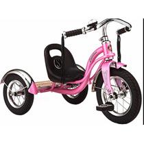 Triciclo De Acero Schwinn Rojo O Rosa