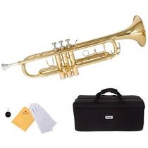 Trompeta Mendini En Cecilio Mtt-l Color Dorado