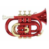 Trompeta Pocket Roy Benson Con Estuche Pt-101r