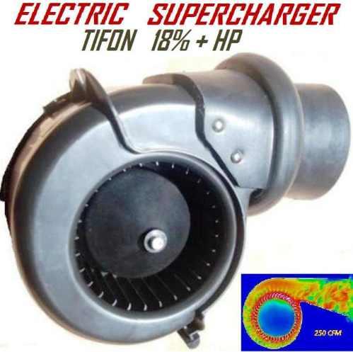 Turbo Electrico Funciona Turbo Supercargador Electrico