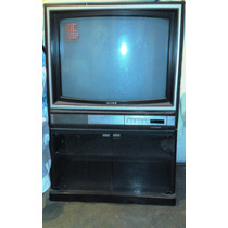 Tv Sony Crt 29 Trinitron Con Mueble Base Original