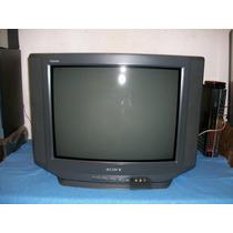 Sony Tv 21p Pantalla Plana Sonido Stereo