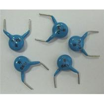 Lote 5 Condensadores 5pf. 6kv