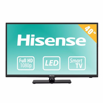 Televisión Led Hisense Smart Tv De 40 , Hdtv, Full Hd.