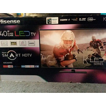 Pantalla Tv Hisense 40 Pulgadas Fhd Smart Hdmi Remate..!