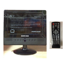 Tv Portatil Digital Lcd Recargable De 7 Pulgadas Con Usb