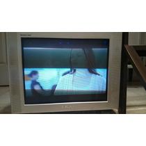 Television Samsung De 25 Pantalla Plana 3 Entradas De Video