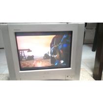 Television Sony 14 Pantalla Plana Stereo 3 Entradas Video