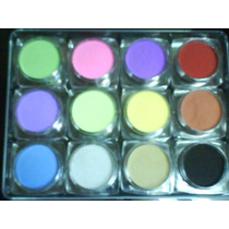 12 Acrilicos Colores Tu Los Elijes Uñas Acrilicas $100 Fdp