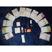 Kit De 100 Articulos Para Uñas De Acrilico(usado) Excelente!