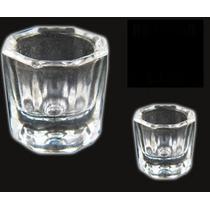 5 Vasos Godete Vidrio P/mezclas Uñas De Acrílico, Monomero