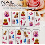 Calcamonias Stickers Uñas Facil Aplicacion Barbie Niñas