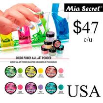 Acrilico Para Uñas Coleccion Color Punch Mia Secret Gelish