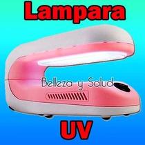 Lampara Uv Giratoria Uñas Acrilico Mano Pie Gel Finish
