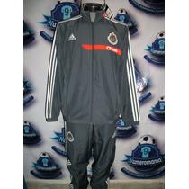 Remate Pants Chivas Conjunto Adidas Gris Original 2013-2014