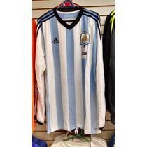 Uniformes De Futbol Selección Argentina Playera Manga Larga