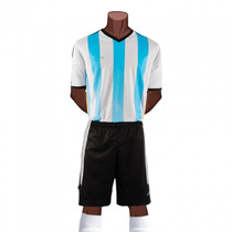 Uniforme Futbol Argentina1 Femenil 2015 Short/medias Galgo