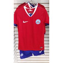 Uniformes De Futbol Selección De Chile Playera