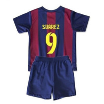 Barcelona Suarez- (camiseta + Short ) Niños