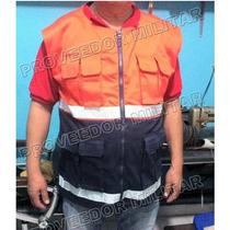 Chaleco Paramedico Alta Visibilidad