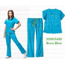 Uniforme Quirúrgico Iguanamed 5500/5600 Bora Blue Para Dama