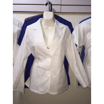 Saco Blazer Clinico Uniforme P/ Doctor Hospital