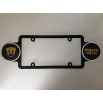 Porta Placas Futbol Pumas Unam