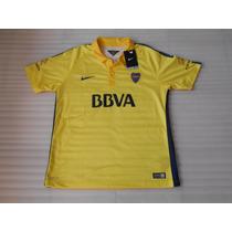 Jersey Nike Boca Juniors Campeón 2015 Gala 100% Original