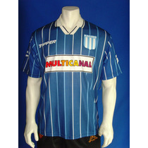 Playera Visita Del Racing Club 1995 / 96