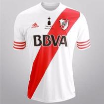 Playera River Adidas 100 % Orig Libertadores Edic Esp Mapa