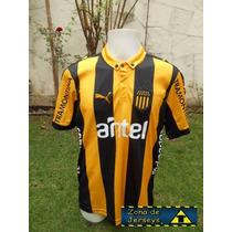 Jersey Peñarol De Uruguay Local Forlan 10 Copa Libertadores