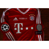 Jersey Bayern Munchen Manga Larga Final Champions League