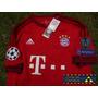 Bayern Munchen Local Con Parches Champions League ¡ Alemania