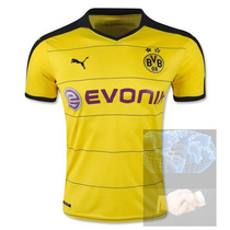 Jersey Borussia Amarilla Local Puma 2016 Dortmund Reus Aubam