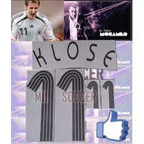 Estampado Alemania Local 2006-2008 #11 Klose $ 130