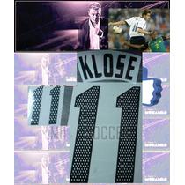 Estampado Alemania Local 2002-2004 #11 Klose $ 150