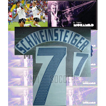Estampado Alemania Local 2002-2004 #7 Schweinsteiger $ 150