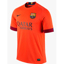 Jersey Nike Barcelona Visita 2014-15 C/ Num Original 100%