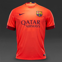 Barcelona Jersey Tercero 2014 Messi, Neymar Jr, Suarez, Xavi