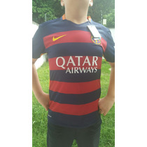 Jersey Nike Dry-fit Barça 2015-16 Original Versión Jugador!