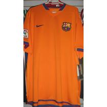 Playera Nike Del Barcelona Temporada 2007 Sin Publicidad