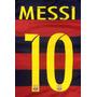 Estampado Messi Ronaldo Hazard Agüero Ibrahimovic Pogba