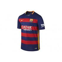 Jersey Niños Barcelona 2015 2016 Nike Original %100