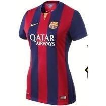 Jersey Mujer Barcelona 2015 2016 Nike Original %100