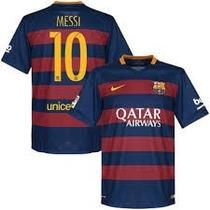 Jersey Barcelona Nike 2015 Tipografia Gratis Messi, Neymar