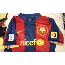 Jersey Barcelona 50 Anivers Camp Nou Messi Local 2007 Sipesa
