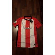 Jersey Nike Athletic Bilbao Lfp Espana 2015-16 Original